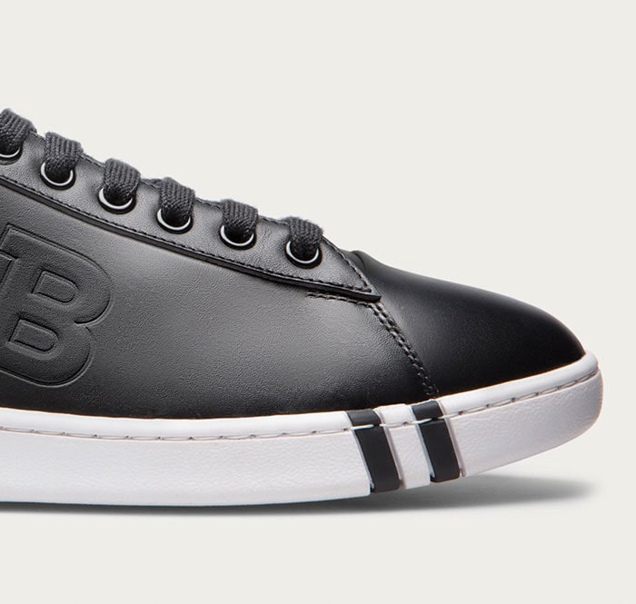 Back to black: high-style sneakers