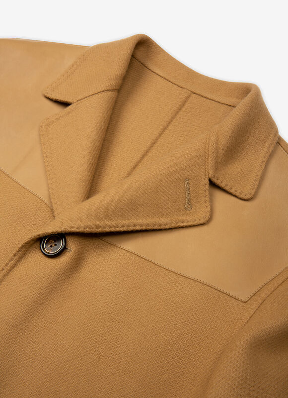 BROWN MIX WOOL Ready To Wear - Bally