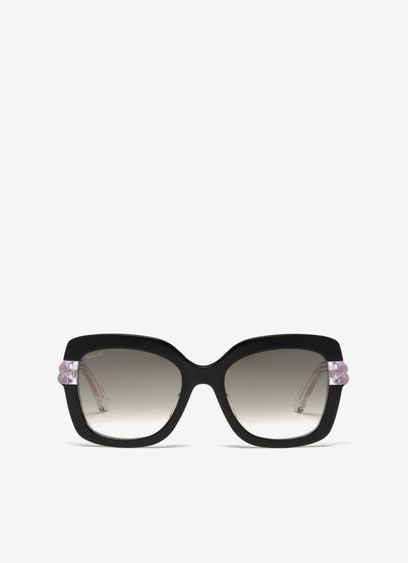 BLACK PLASTIC Sunglasses - Bally