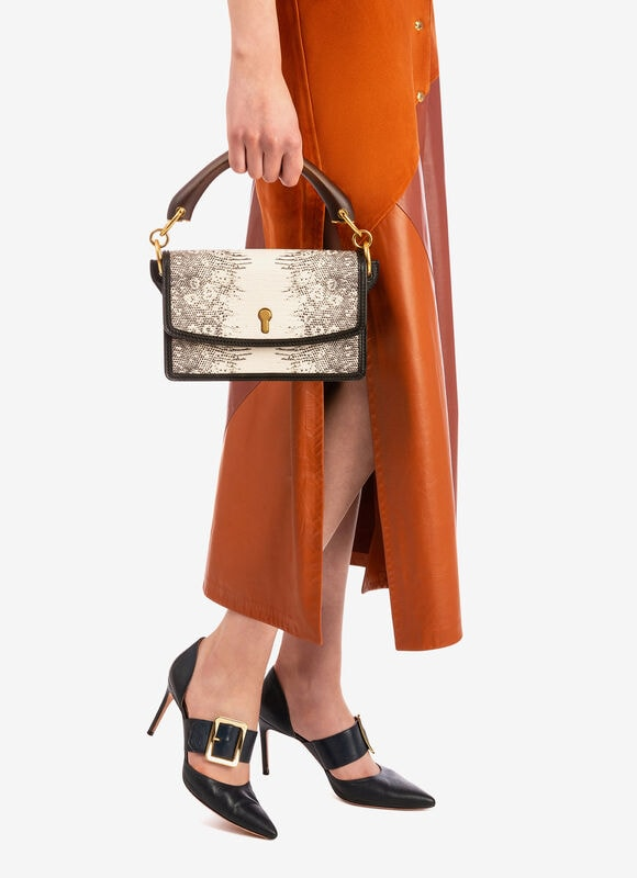 NEUTRAL BOVINE Cross-body Bags - Bally