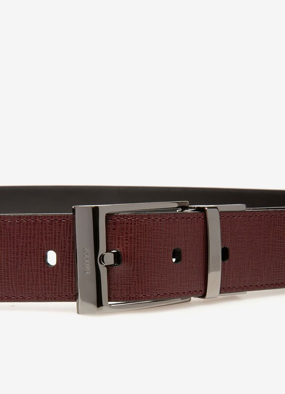 BURGUNDY CALF Belts - Bally