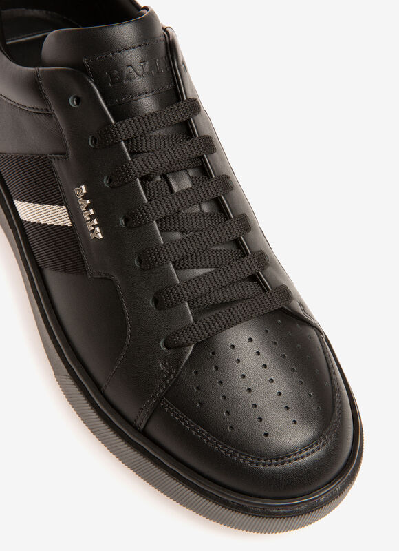 BLACK CALF Sneakers - Bally