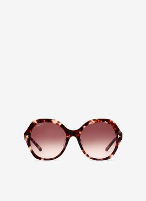 PINK PLASTIC Sunglasses - Bally