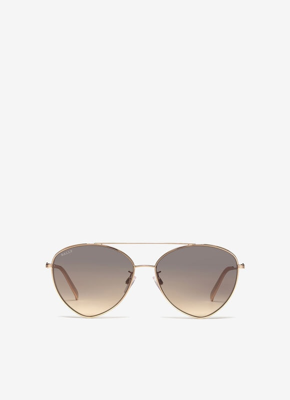 GREY METAL Sunglasses - Bally