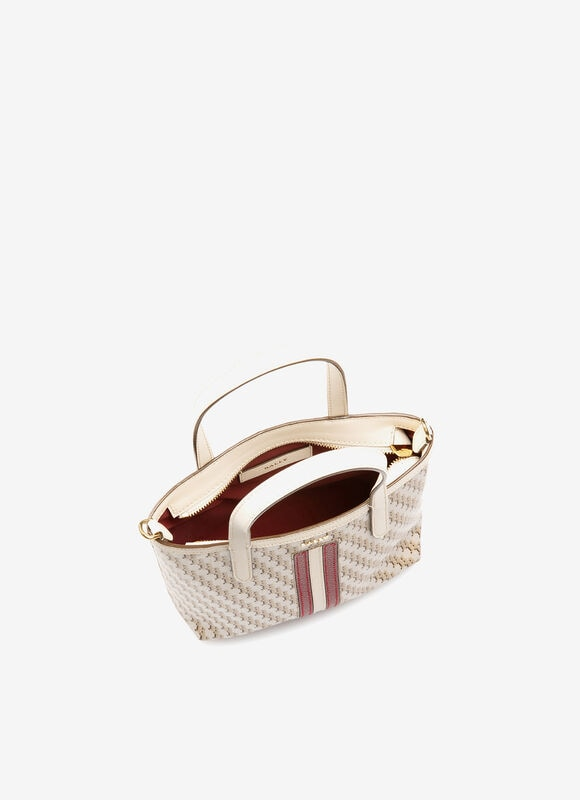 PINK FABRIC Tote Bags - Bally