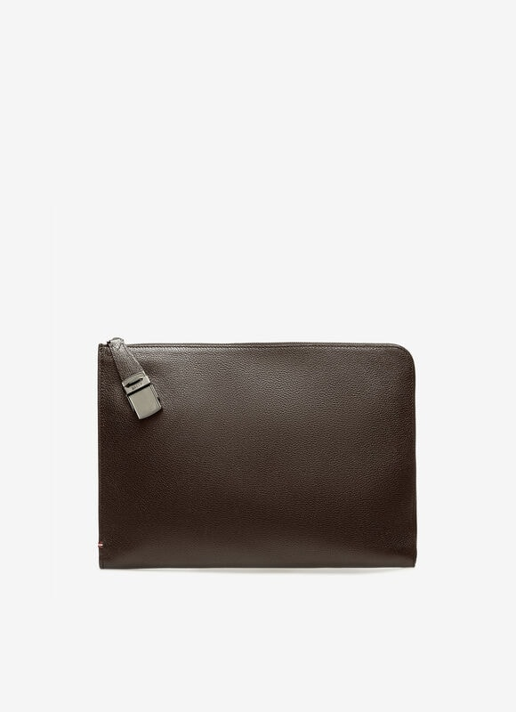 BROWN BOVINE Clutches and Portfolios - Bally