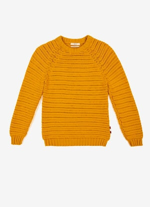 YELLOW MIX COTTON Knitwear - Bally