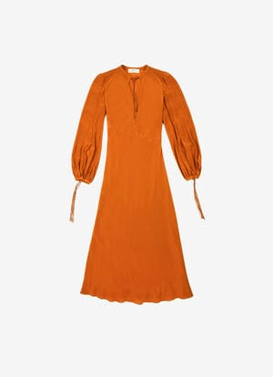 ORANGE VISCOSE Dresses and Skirts - Bally