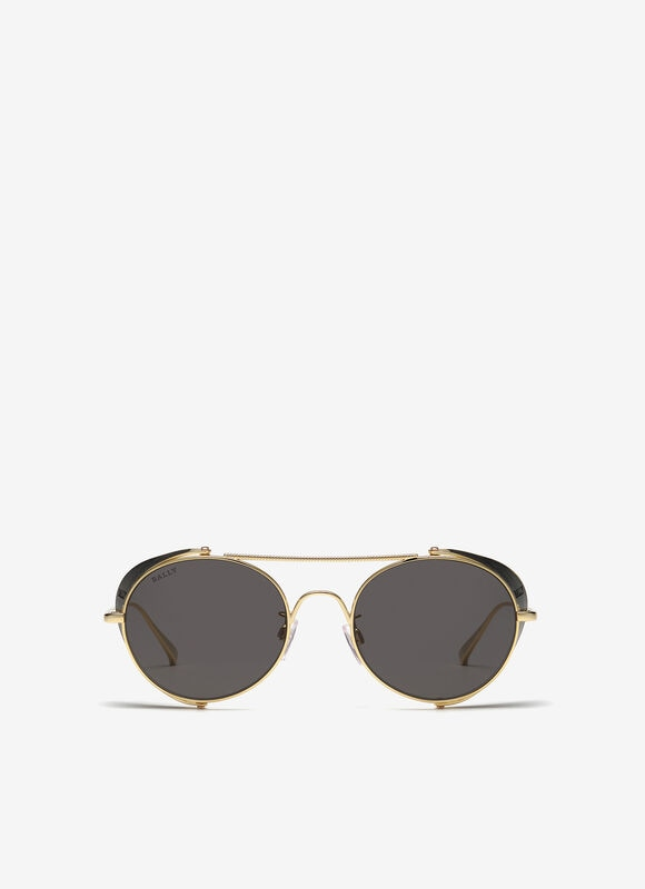 YELLOW METAL Sunglasses - Bally