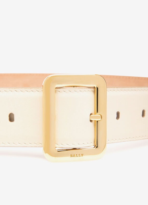 WHITE CALF Belts - Bally