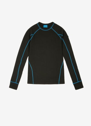 BLACK POLYESTER Tops - Bally
