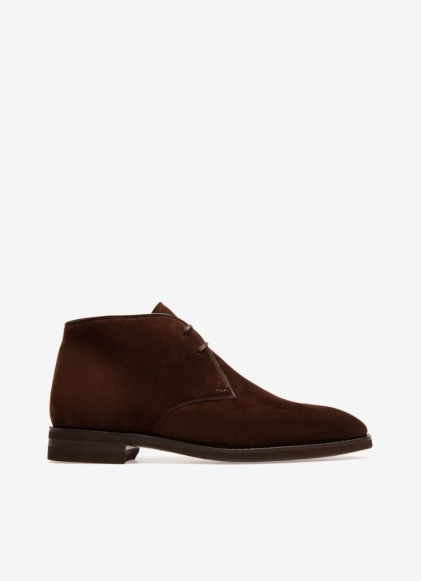 Mens Desert Boots | Brown Suede Leather