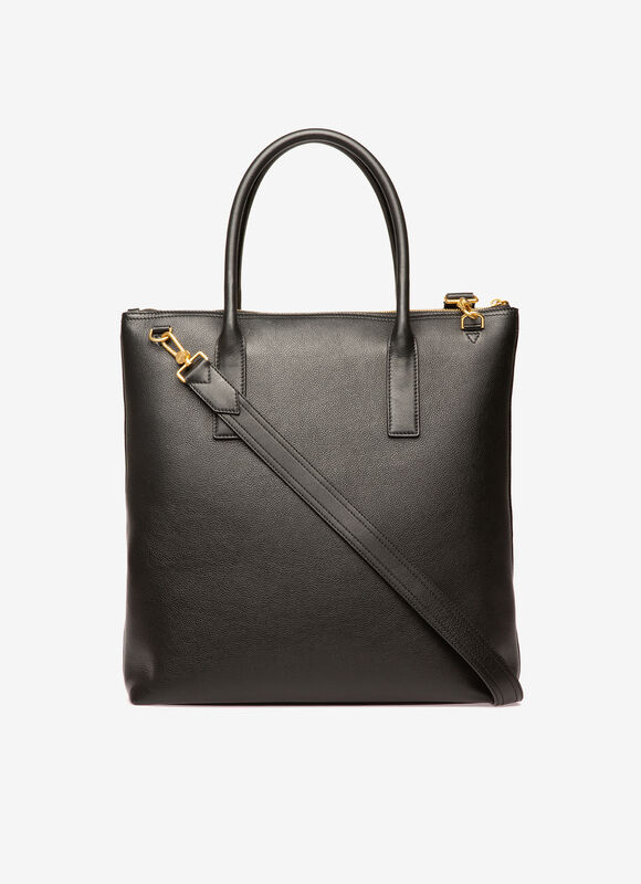 BLACK BOVINE Tote Bags - Bally
