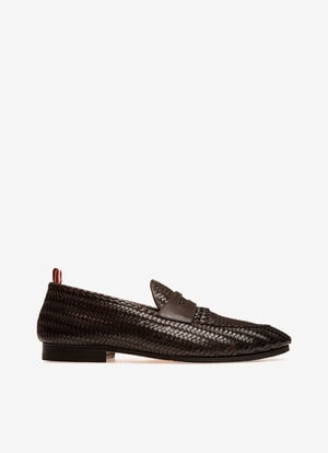 BROWN CALF Loafers and Moccasins - Bally