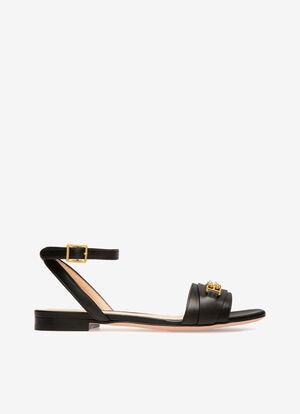 BLACK CALF Sandals - Bally
