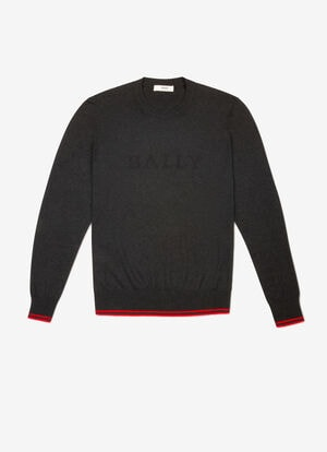 GREY MIX COTTON Knitwear - Bally