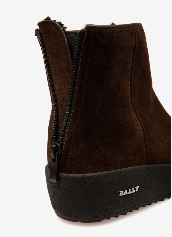 BROWN CALF Snow Boots - Bally