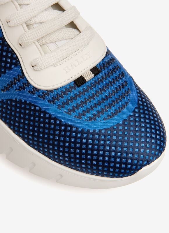 BLUE MIX COTTON Shoes - Bally