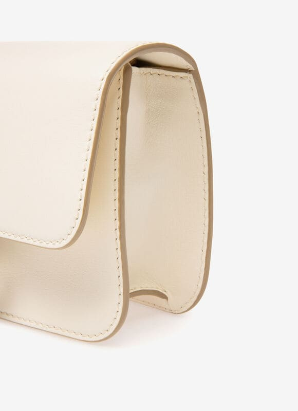 WHITE CALF Mini and Belt Bags - Bally