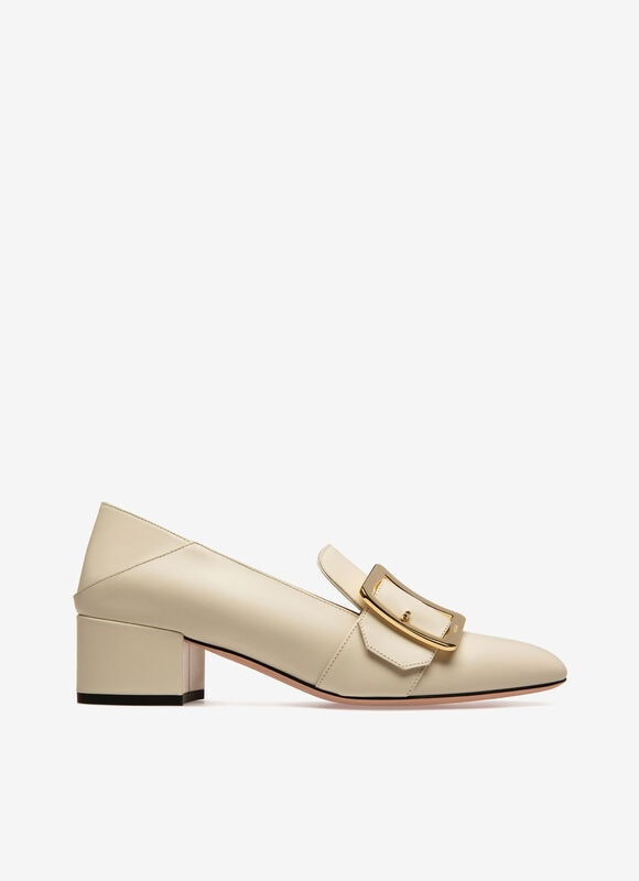 WHITE CALF Pumps - Bally