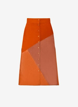 ORANGE CALF Dresses and Skirts - Bally