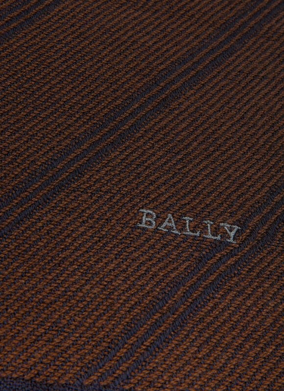 BROWN WOOL Scarves - Bally